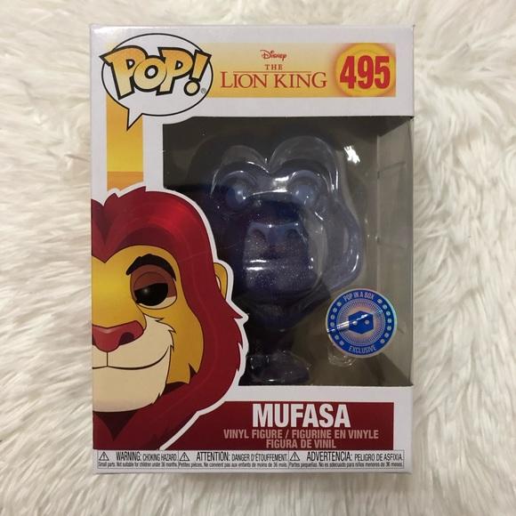 Disney Mufasa Spirit Glitter (495) Funko Pop